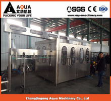 CE approved automatic bottled water packaging line project