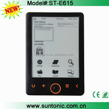 New Launch 6 inch Ebook reader with eink screen