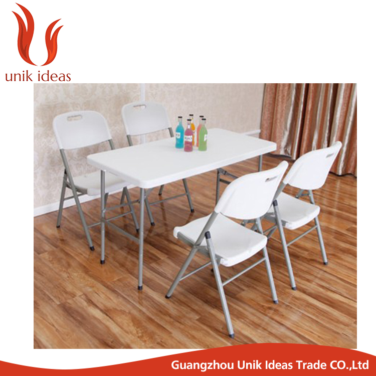 Garden set Cheap price outdoor plastic foldable table