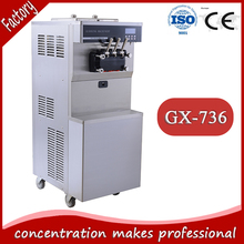 GX-736 CE chinese manufacturer hot sell cold stone marble slab top fry ice cream machine