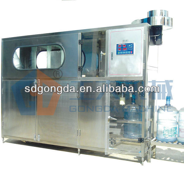 water bottling line include washing filling capping machine