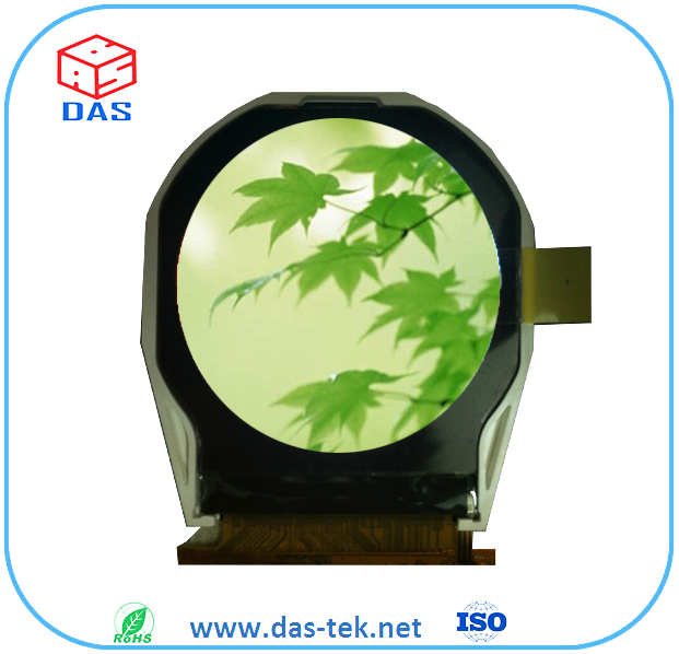 2.1 inch 320*320 circular with Mipi interface with capacitive touch screen tft lcd screen