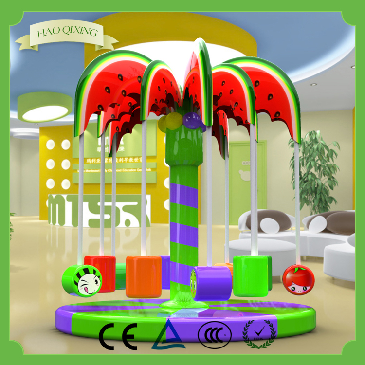 New design wholesale naughty castle , Child indoor electric toys Electric coconut tree toy