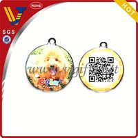 2014 New design pet care service with funny pet qr code name tags for dog and