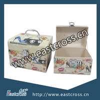 Cosmetic Packaging Cardboard Paper Storage Mini Suitcase Box Set