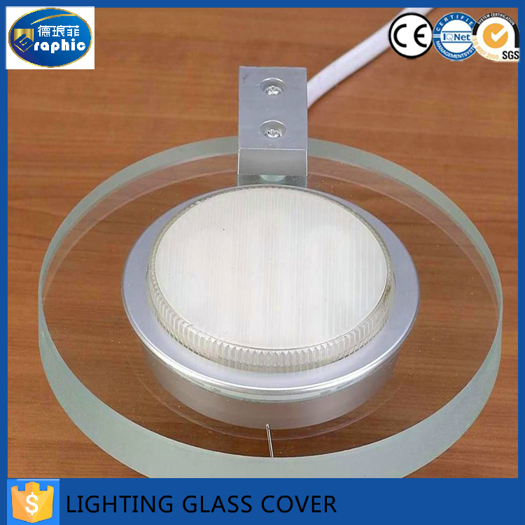 China supplier custom led light glass with 3C/CE/ISO