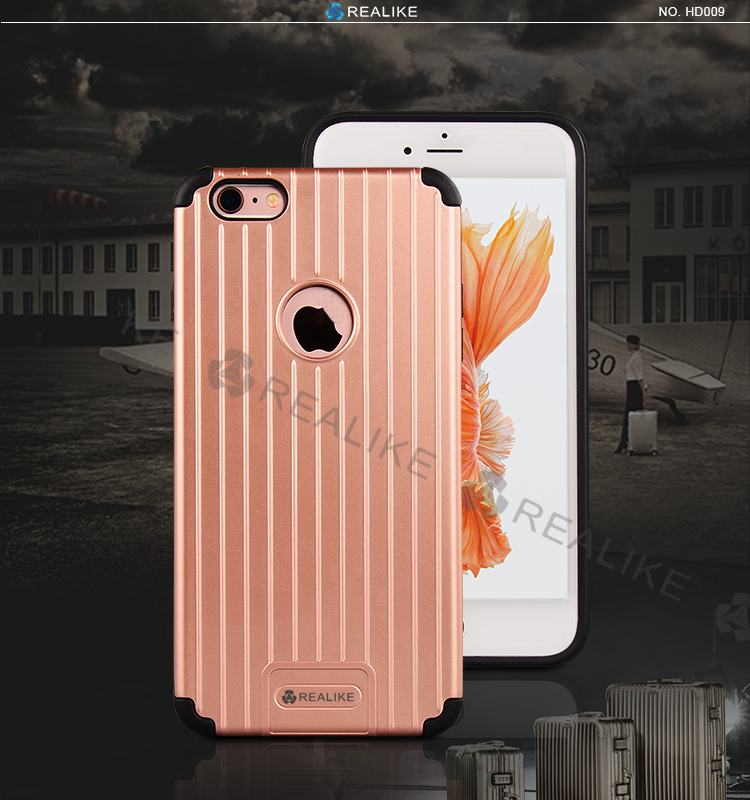 2016 newest mobile phone accessories travel style cell phone case cover for iphone 6/6s plus