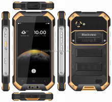 Unlocked Blackview BV6000 Android 6.0 marshmallow RAM 3GB ROM 32GB 4.7 inch Octa Core Rugged 4G lte NFC waterproof mobile phone