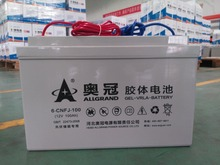 Rechargeable Free-maintained Deep Cycle GEL Battery 12V 100Ah for Solar Energy Storage or UPS or Standby Power Supply