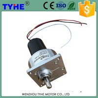 Highly Sfficient China Factor 12v dc gear motor specifications