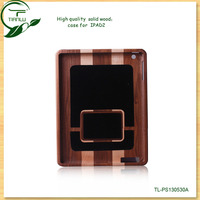 New product for ipad 5 case wholesale, for wooden ipad back case newest hot sale