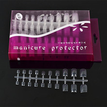 2017 Wholesale New Product 500pcs for a Box Toe Nails Eco-friendly Artificial Acrylic Nail Tips