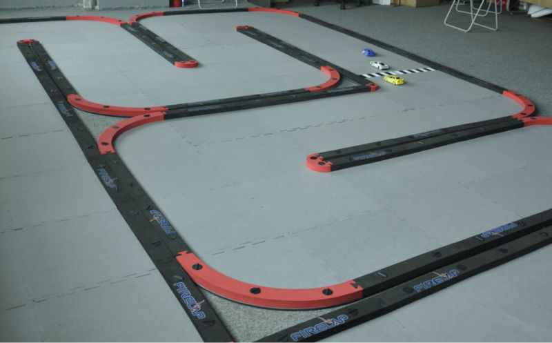 New design EVA fiber rc track materials