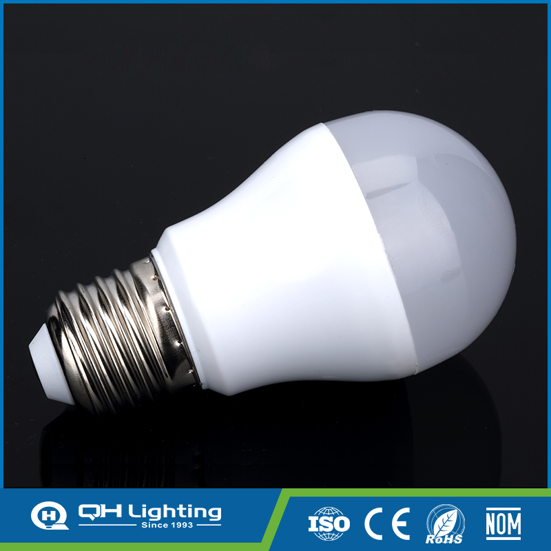 Long-time High Power indoor / outdoor 3w smart led light bulb cover