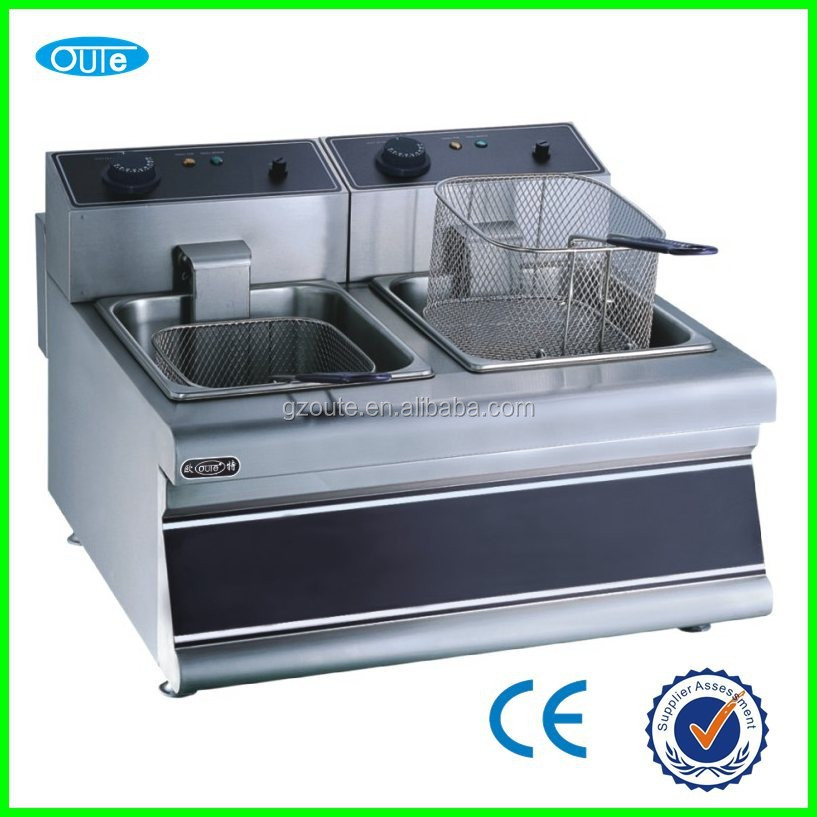 New design counter top electric chip banana fish turkey fryer OT-902