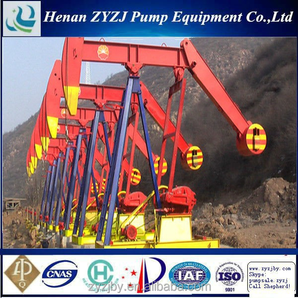 China Crude Fuel Sucker Rod System Pumping Unit