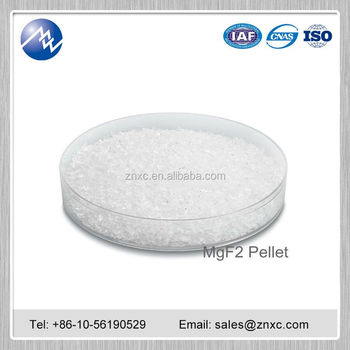 China MgF2 factory price magnesium fluoride crystal