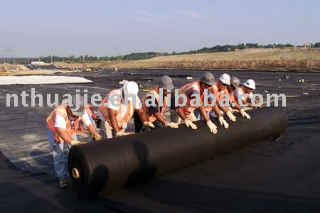 PP non-woven landscape fabric for road/ driveway construction