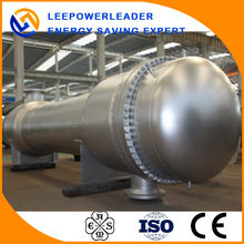 Chemical floating head shell and tube heat exchanger