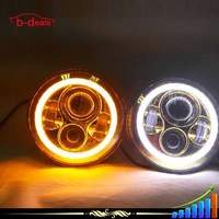 2015 make in china C ree led projector lens fog lamp for Jeep wrangler