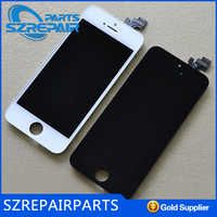 for apple iphone 5s mobile phone unlocked original Spare Parts for iphone 5 tempered glass