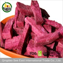 HALAL CERTIFIED HEALTH FOOD FREEZE DRIED PURPLE SWEET POTATO