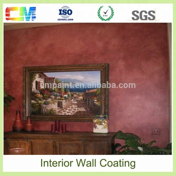 Building indoor house emulsion latex interior wall coating paint color for living room
