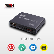 Wholesale 5.1 analog advertising 3D player center Full HD HDMI SD/USB plug and play Media Player