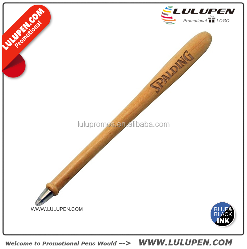 Customized Wooden Baseball Bat Pen (T389013) Logo Novelty Pens