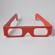 Promotional gift!! good selling paper refraction depth 3d glasses