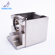 High precision aluminum box 5 axis CNC machining parts with hard anodized