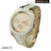 Good quality quartz geneva watch japan movt water resistant