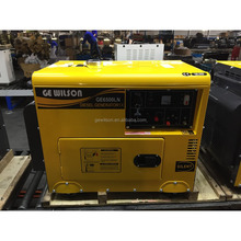 Factory stock 5kw portable small silent diesel generator set