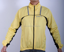 Rainproof Cycling Rain Coat Men's Bike Rain Jacket Outdoors Riding Bicycle Yellow Raincoat Waterproof