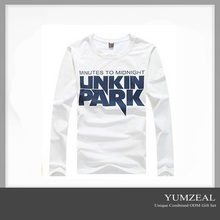 Long Plain White T-Shirts in Bulk/Tall T-Shirts wholesale for Promotion