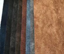 PU leather for garment,jacket, embossed design
