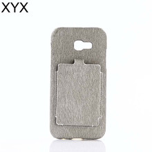 Simple and graceful leather cover case with big slot for iphone 7 fast selling 2017