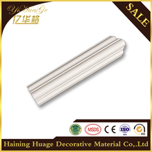 8010 China PU Plain Cornices Mouldings/home decoration for interior