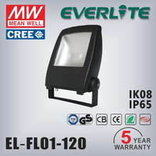 IP65 waterproof cob solar led flood lights and projector 120w
