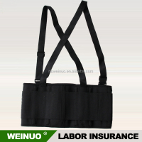 Comfortable back support belt