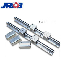 Aluminum Round Linear Guide Rail Motion Slide Unit Bearing Sbr16uu For CNC Machinery