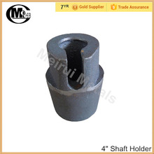 "China suppliers 4"" shaft holder/shaft plug for rolling door for roller shutter parts"