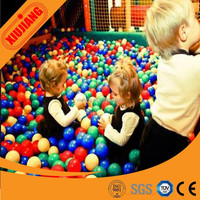 Kids indoor playground with plastic balls for children pool soft playball