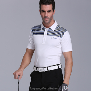 Summer Quick Dri Golf Shirts Polyester Men Shirts OEM Golf T-Shirts for Man Golfer Clothes