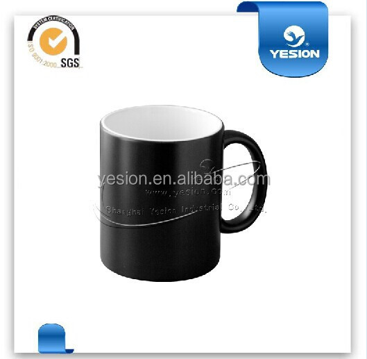 Yesion Colour Changing Mug11OZ Mug Sublimation /Wholesale Cups to Sublimation/Heat Sensitive Color Changing Mug