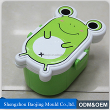 plastic mini square storage food box,lunch box