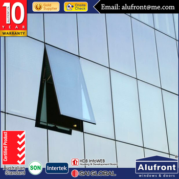 Architectural Aluminum Glass Curtain wall facade