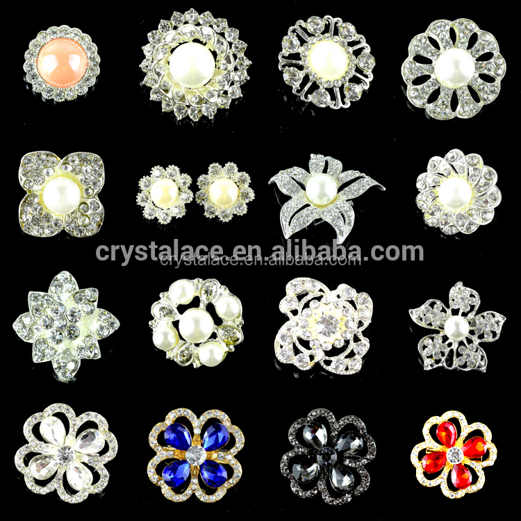 Rhienstone Broaches Crystal Pin for Women Clothing
