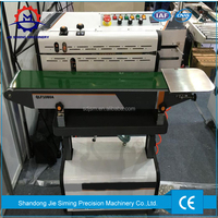 Air Suction Vertical Continuous Band vacuum Sealer for plastic foil bag