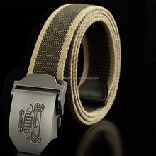 custom men canvas belts